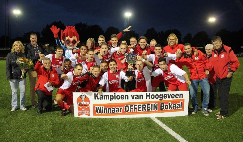 AH Offerein Bokaal - winnaar HZVV 2014