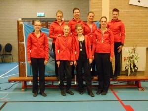 Majorettes Wilhelmina Concours Coevorden