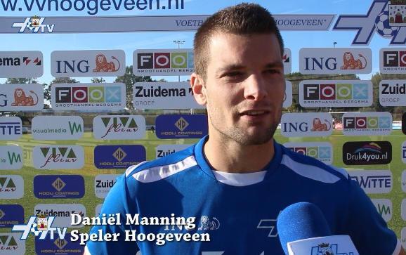 VV Hoogeveen TV - Daniel Manning (11-10-2015)