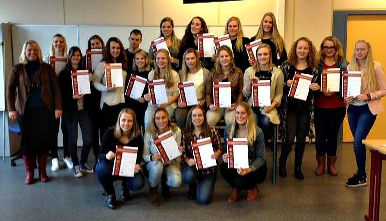 uitreiking certificaten saw