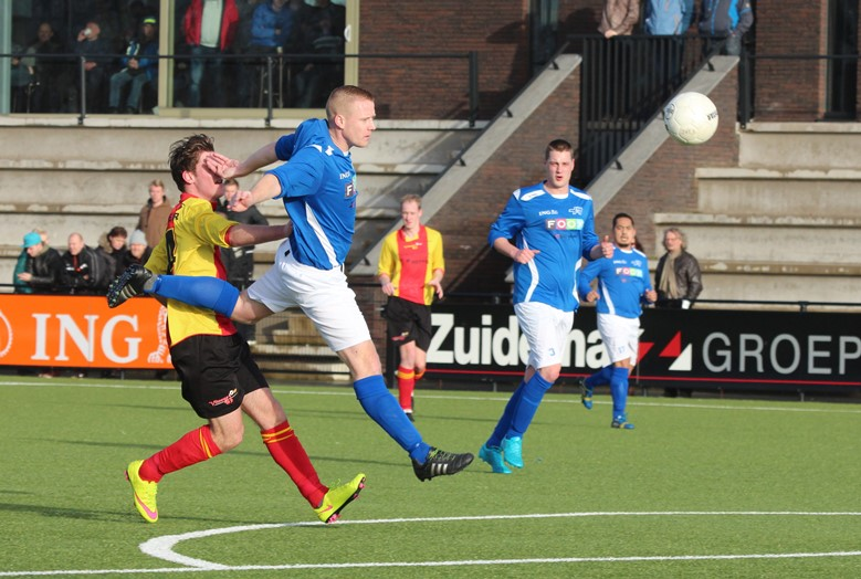 Hoogeveen zaterdag - Vitesse'63 (23-01-2016) (1) - Lennard Bijl