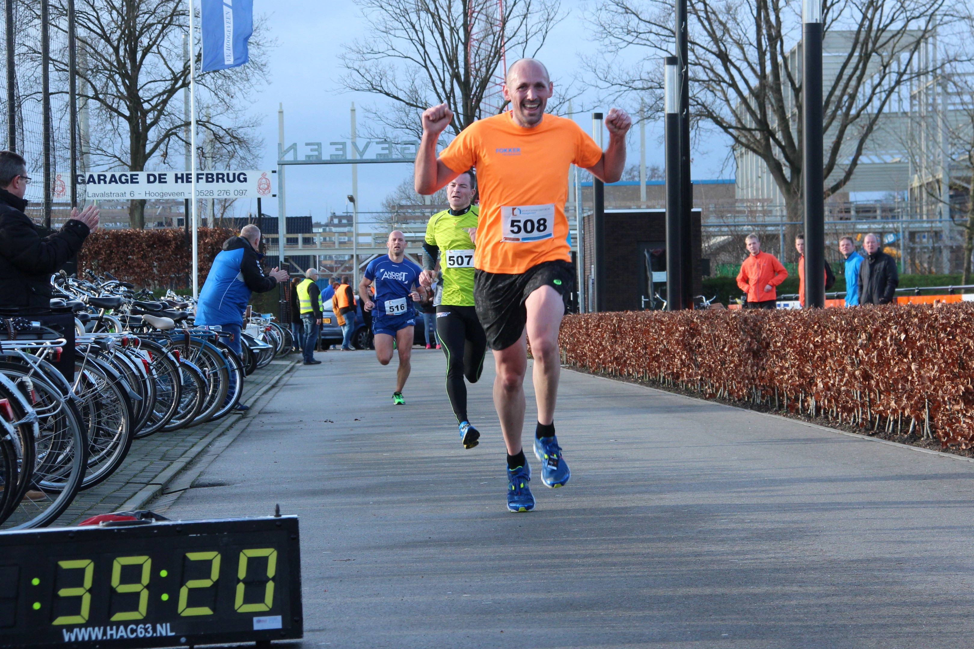 Winnaar Stefan Kikkert