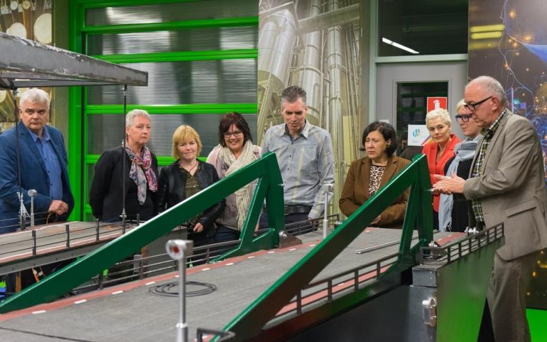 Gemeenteraad De Wolden op bezoek bij Alfa-college Hoogeveen