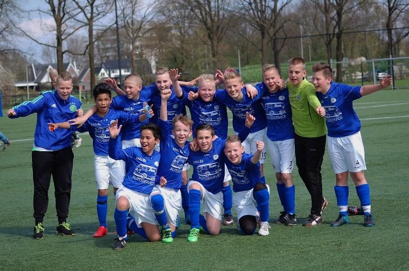 Voetbaltalent VV Hoogeveen