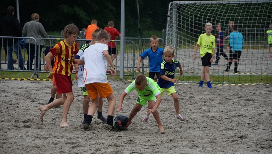Beach soccer toernooi bij HODO (1)