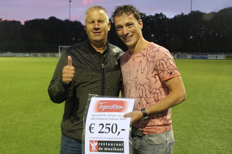 Ruinerwold (Marcus Koetsier) sportiefste ploeg AH Offerein Bokaal 2016