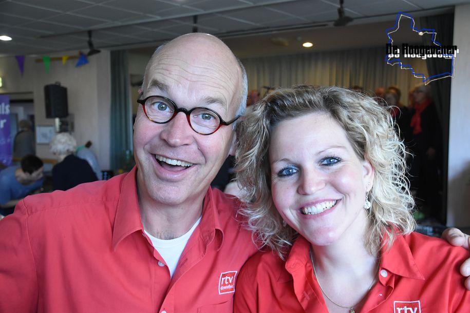 Harm Dijkstra en Leonie van der Werf