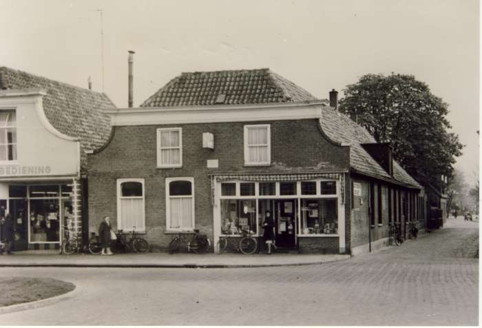 Boekhandel Pet circa 1960