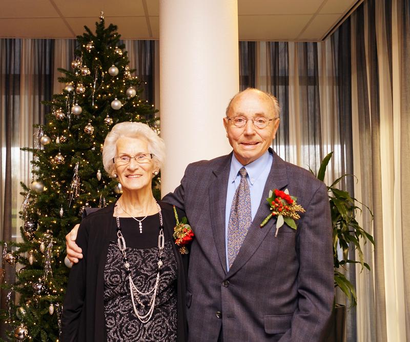 Echtpaar Schutte-Hilverts 70 jaar getrouwd