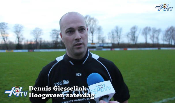 VV Hoogeveen TV - Dennis Giesselink (05-12-2015)